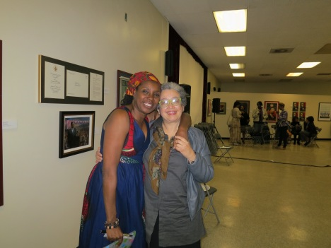 Joyce Guy w/Editor, Lillian Benson