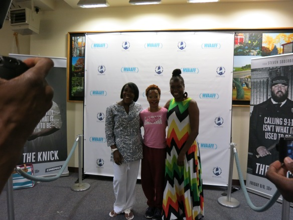 MVAAFF Co-founder Stephanie Rance, Camille A. Brown and Joyce Guy