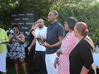 Co-founders Floyd and Stephanie Rance of the Martha's Vineyard African American Film Festival