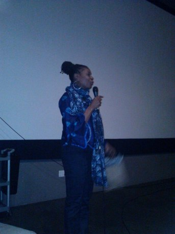 Q&A at the International Black Women's Film Festival