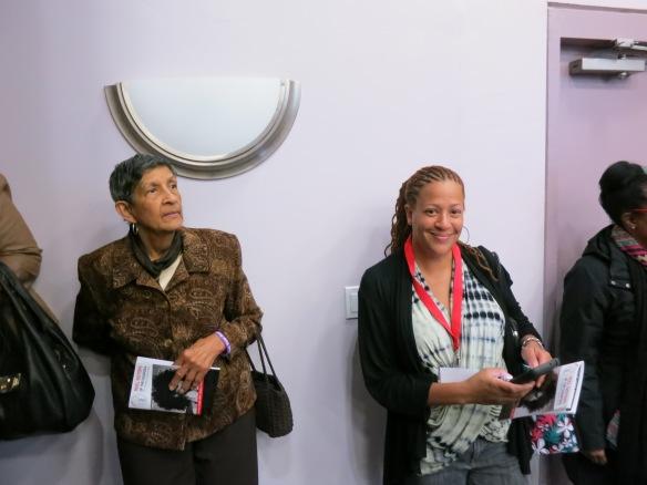 Leslie Saltus-Evans and Nessie Saltus @ Reel Sisters Film Festival
