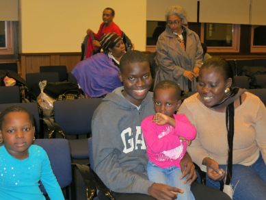 Djeneba Bayo and Family