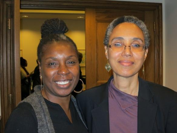 Joyce Guy and Diarah N'Daw-Spech, co-founder African Diaspora International Film Festival